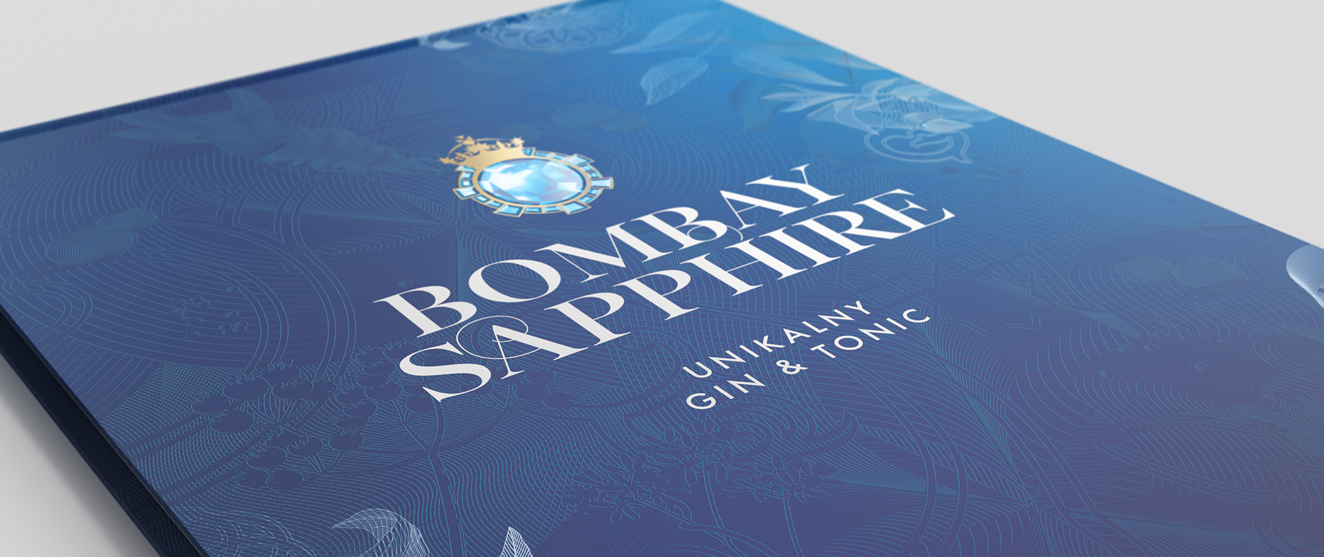 Booklet Bombay Sapphire