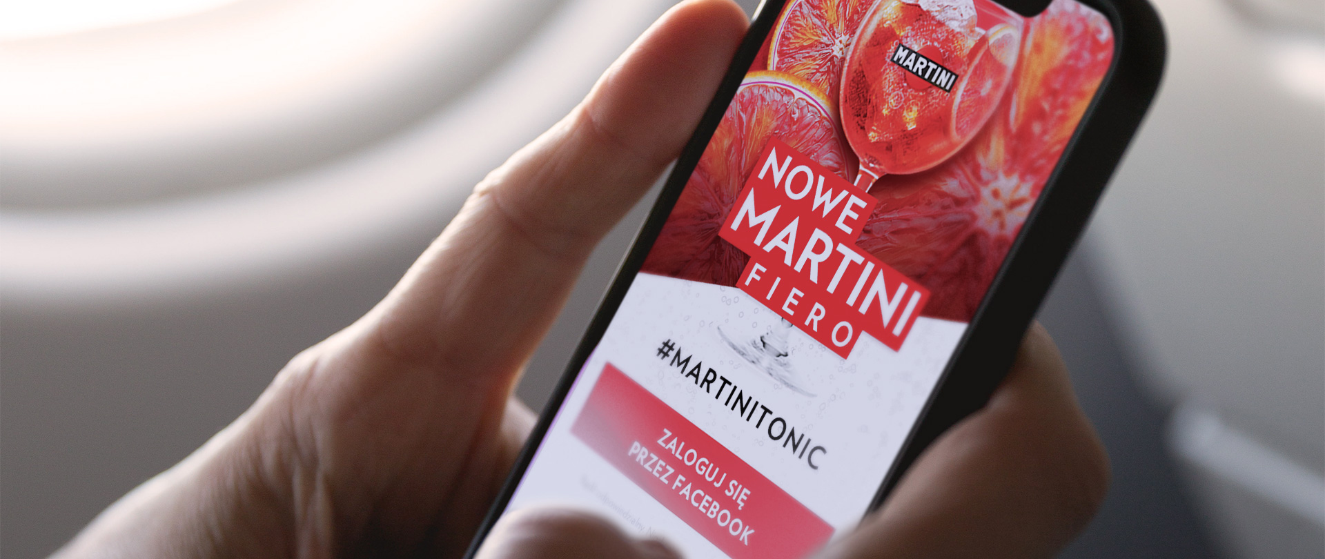Martini Fiero Tonic app